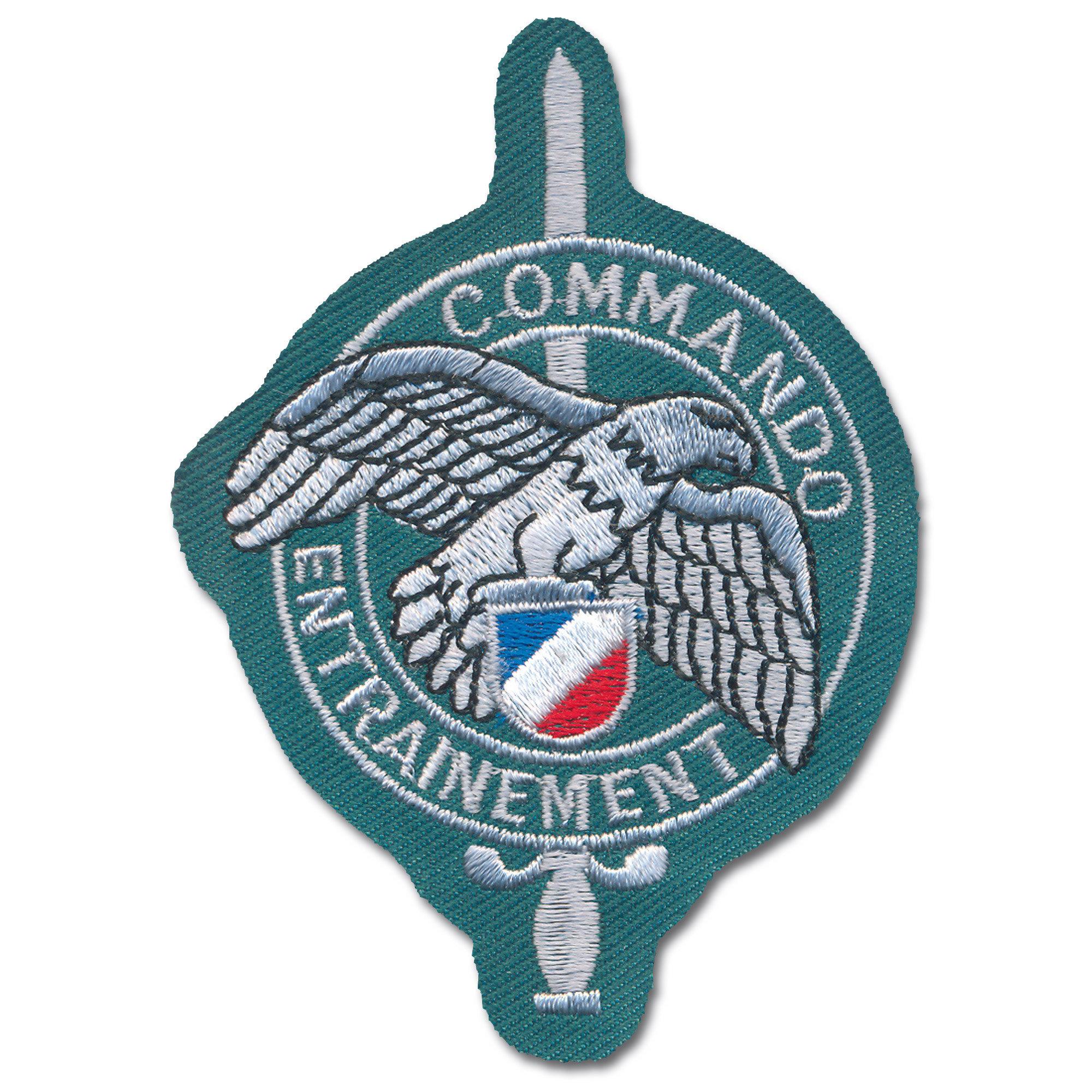 Abzeichen Commando Entrainement grün