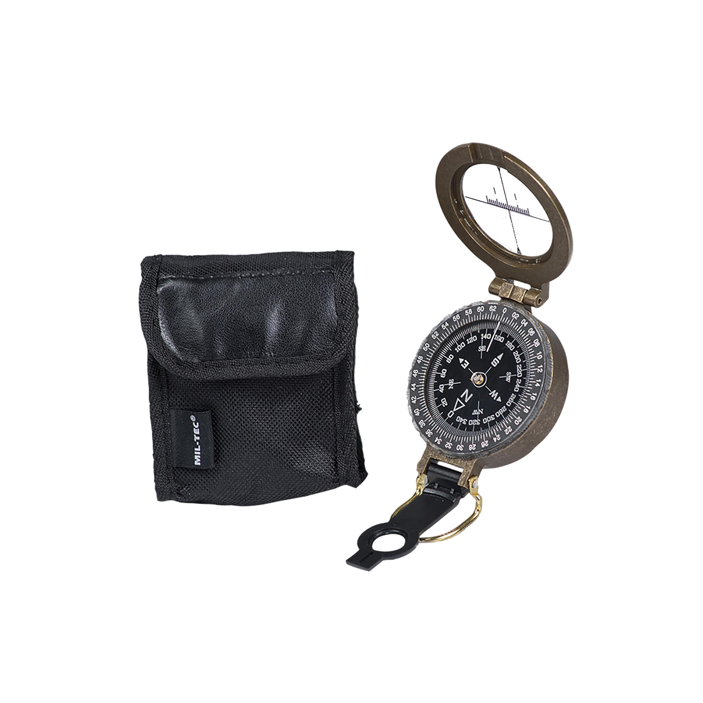 Kompass Antik mit Hülle