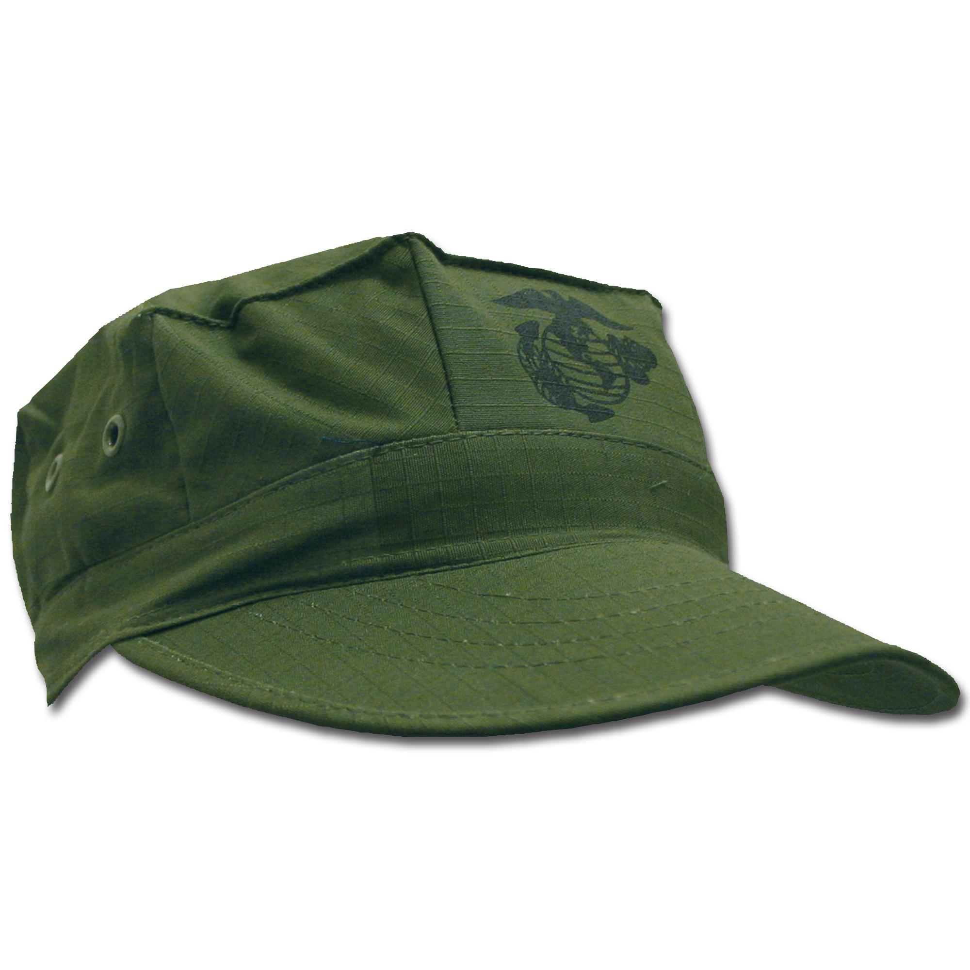 USMC Cap oliv