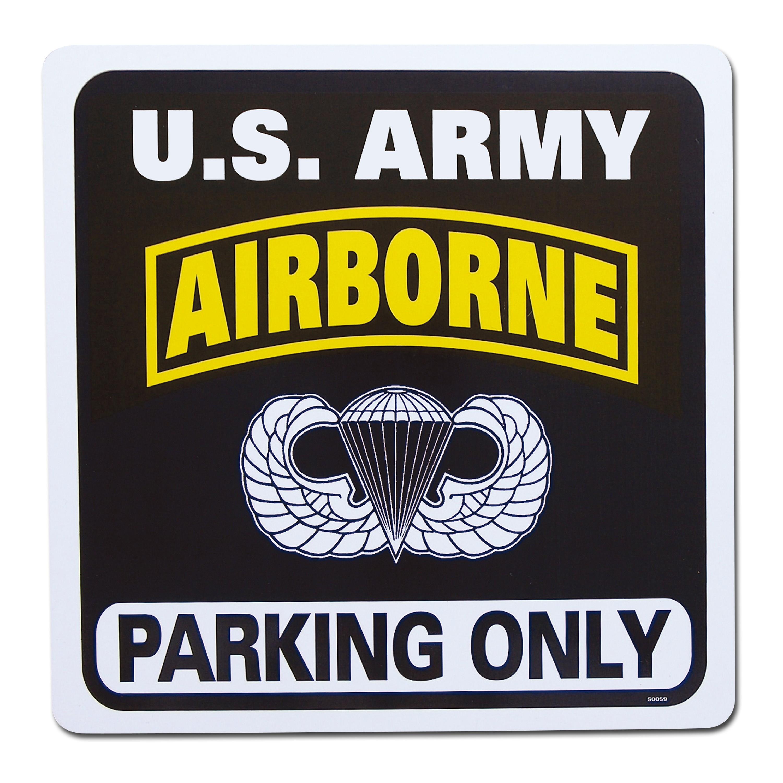 Parkschild Airborne