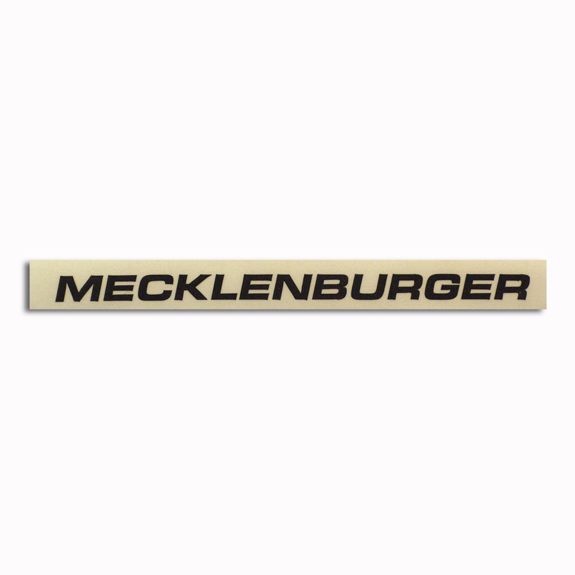 Aufkleber Mecklenburger