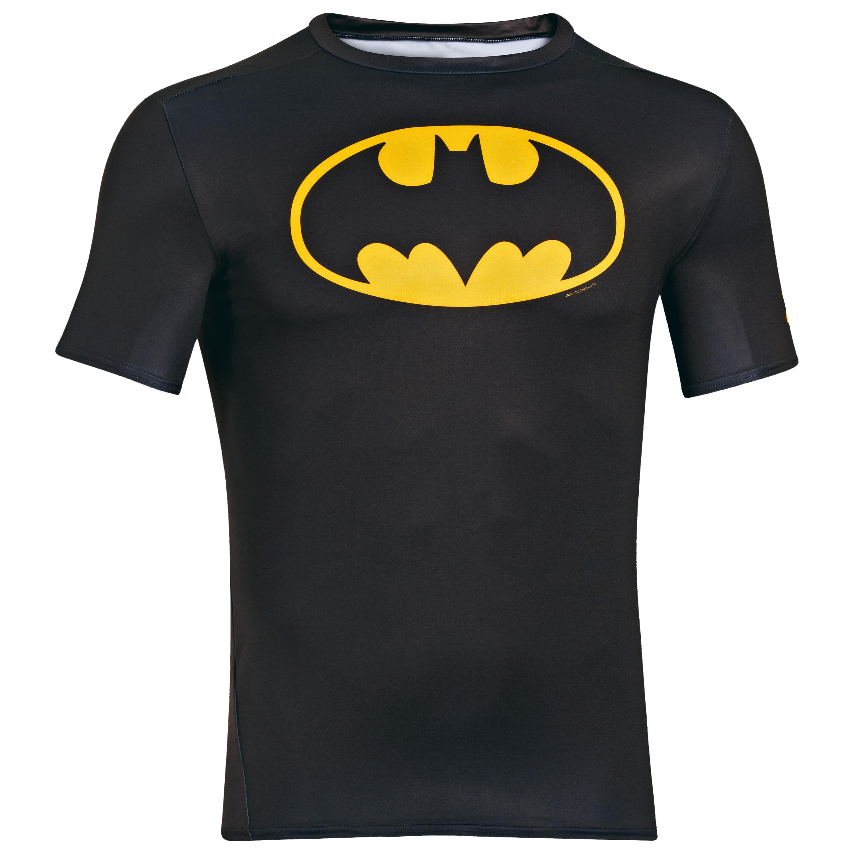 Under Armour Shirt Alter Ego Batman schwarz