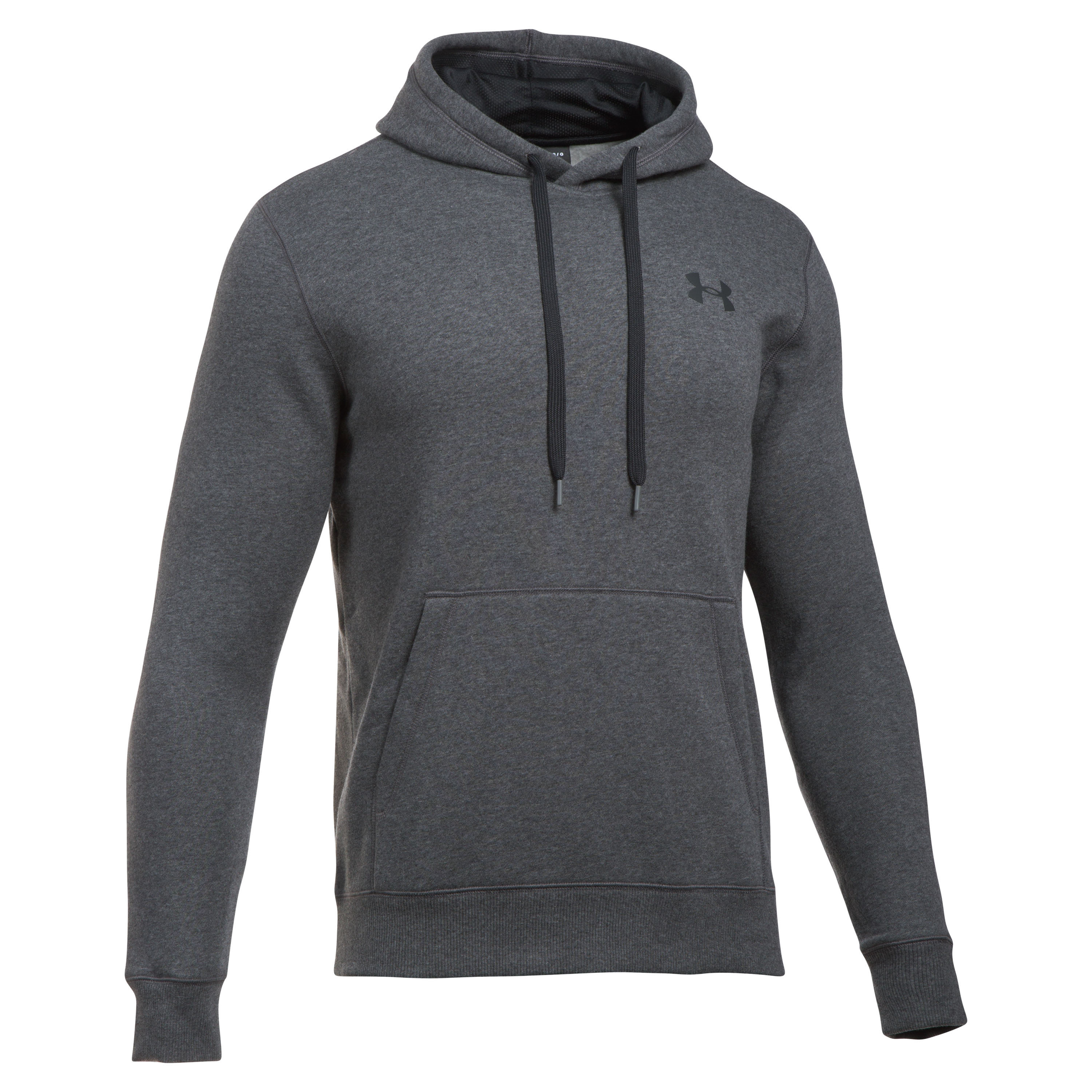 Under Armour Hoodie Rival Fitted grau meliert