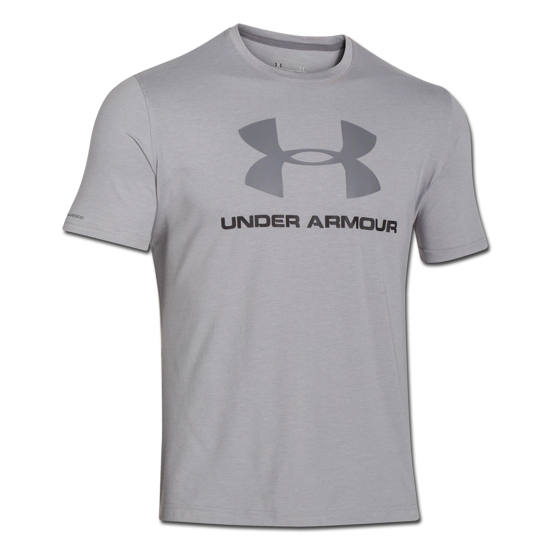 Under Armour Shirt Sportstyle Logo grau