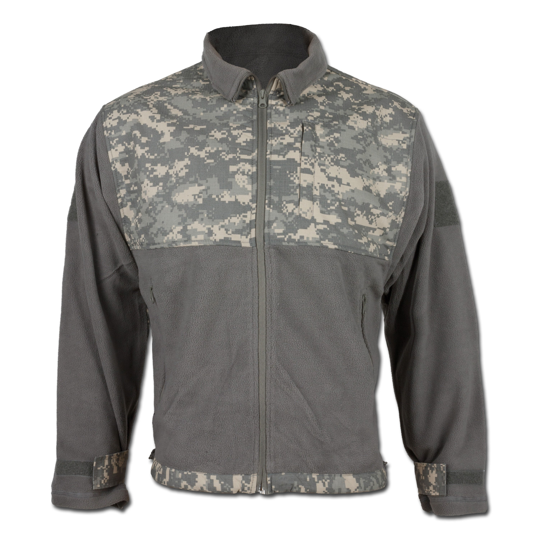 Thermo-Jacke Fleece Ripstop AT-digital
