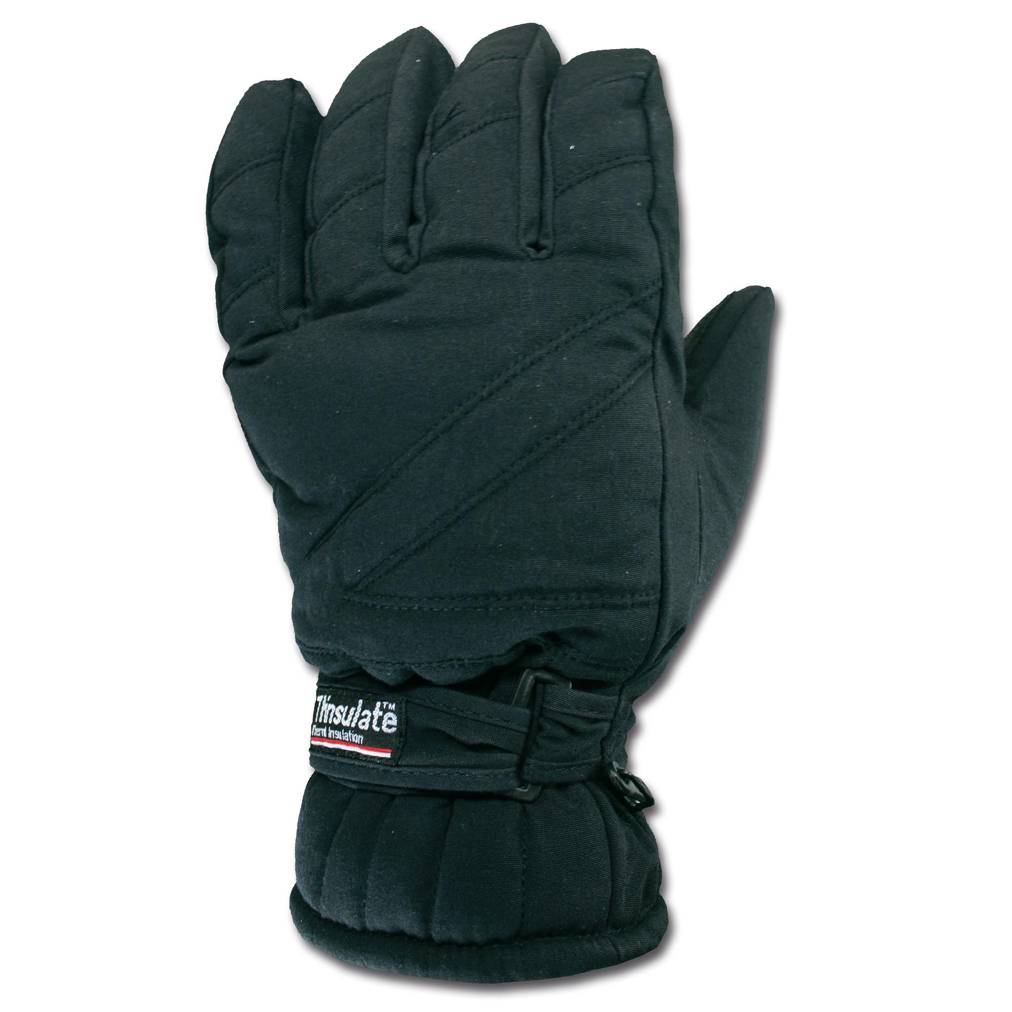 Thermo Handschuhe schwarz