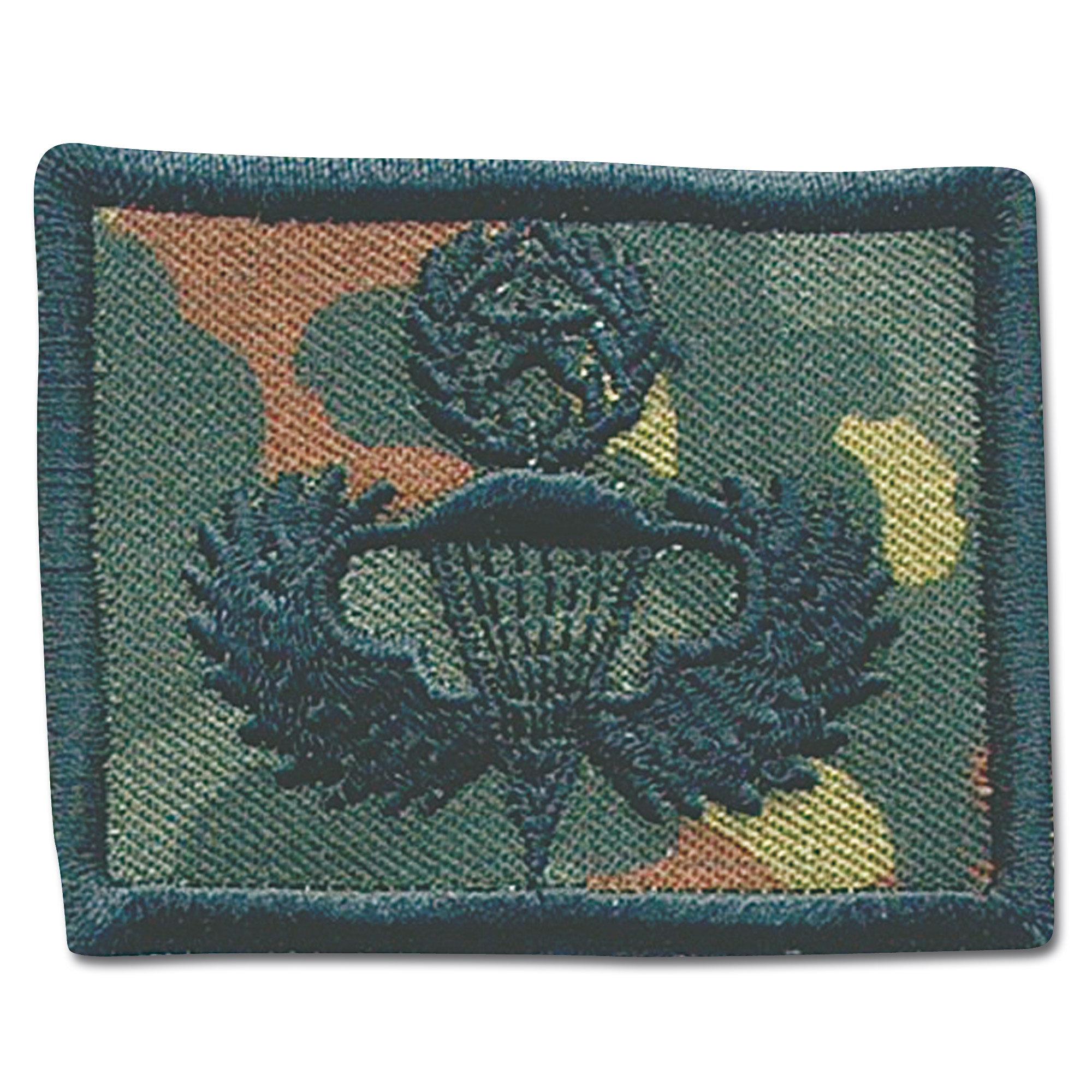 Abzeichen Springer Textil US-Master flecktarn