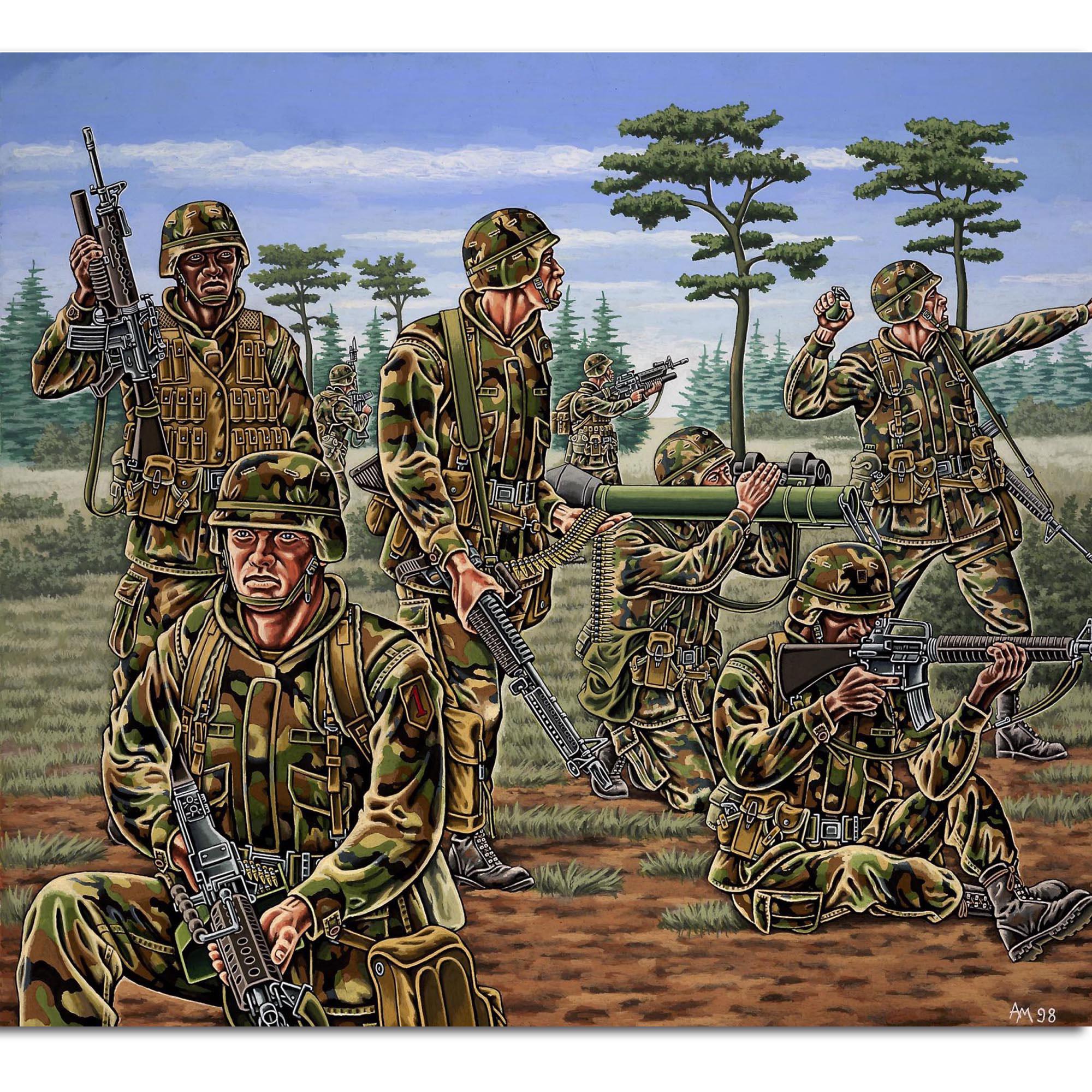 Revell US-Infanterie
