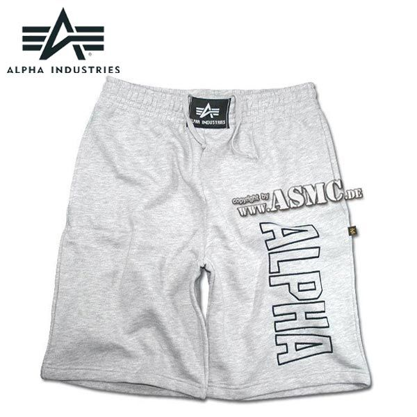 Alpha Industries Track Short grau