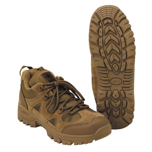 MFH Halbschuhe Tactical Low coyote tan