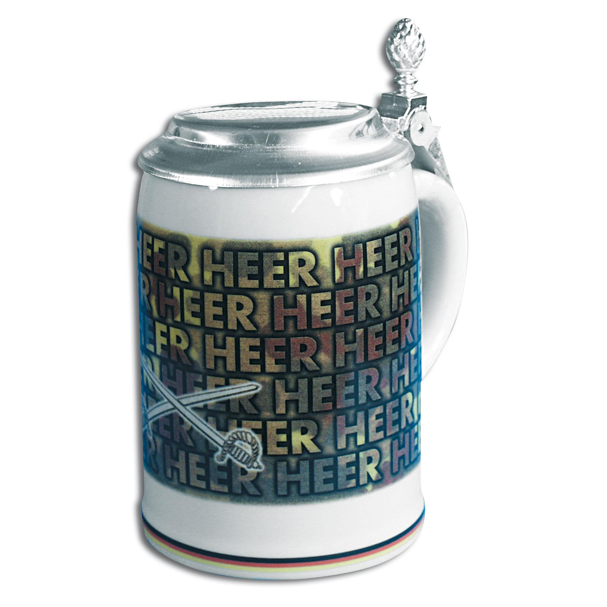Bierkrug Heer