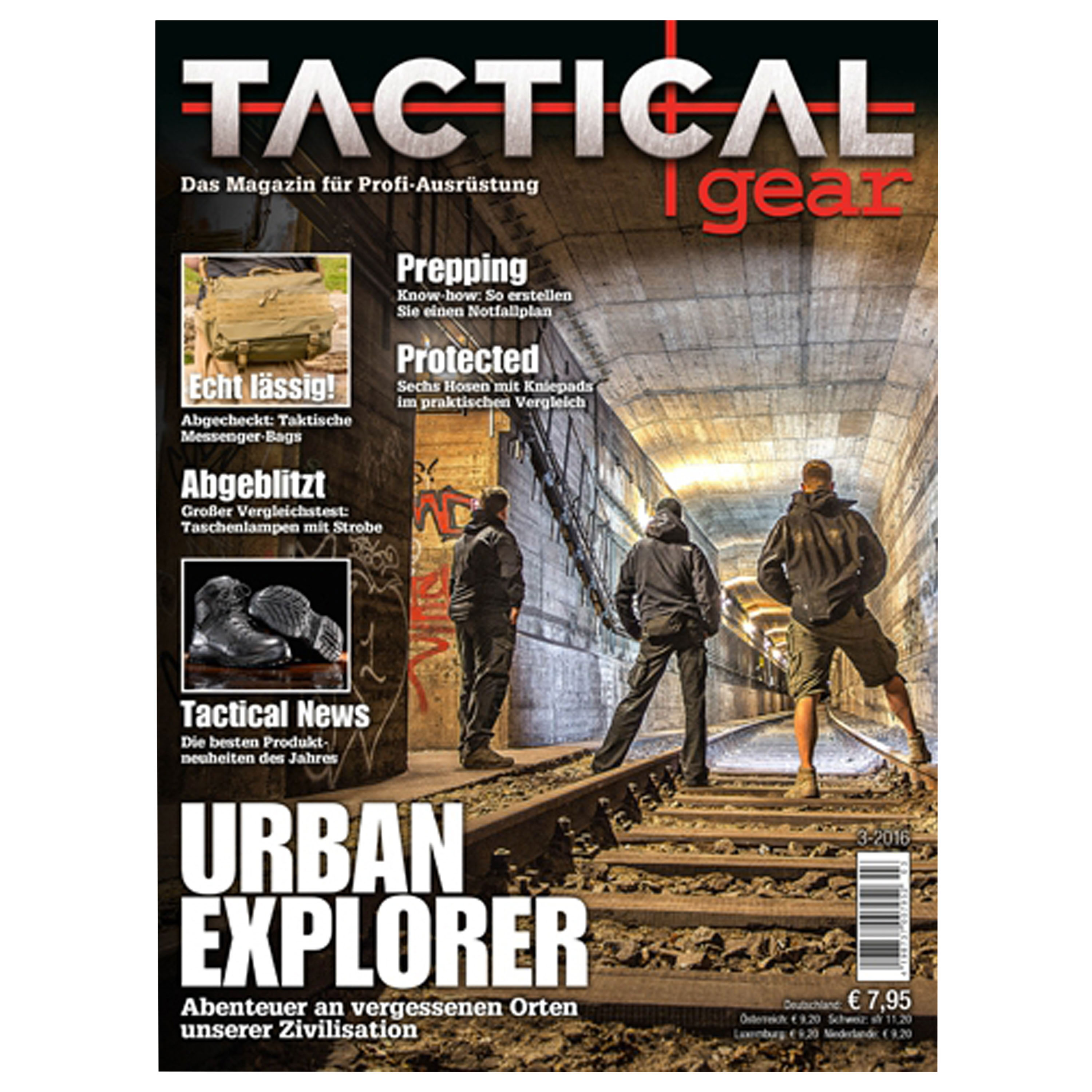 Magazin Tactical Gear 3/2016