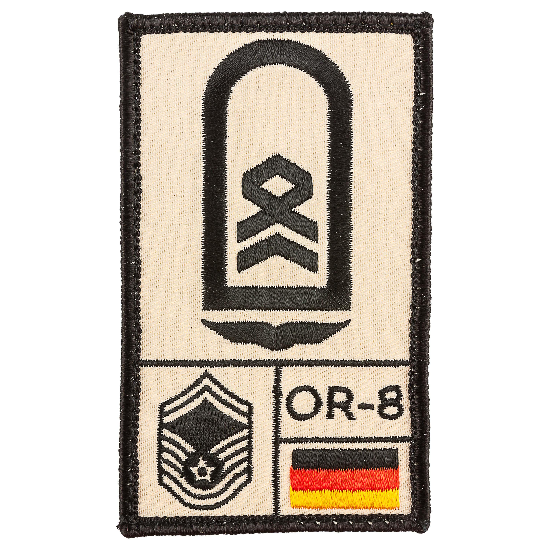 Café Viereck Rank Patch Stabsfeldwebel Luftwaffe sand