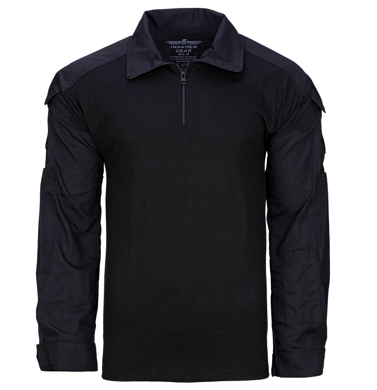 Invader Gear Combat Shirt schwarz