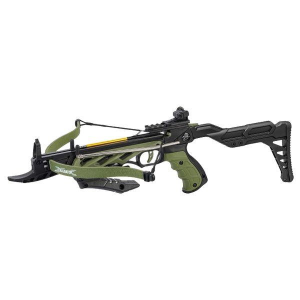 Man Kung Pistolenarmbrust Alligator II 80 lbs oliv