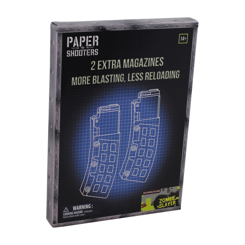 Paper Shooters Ersatzmagazin Tactician Zombie Slayer 2er Pack
