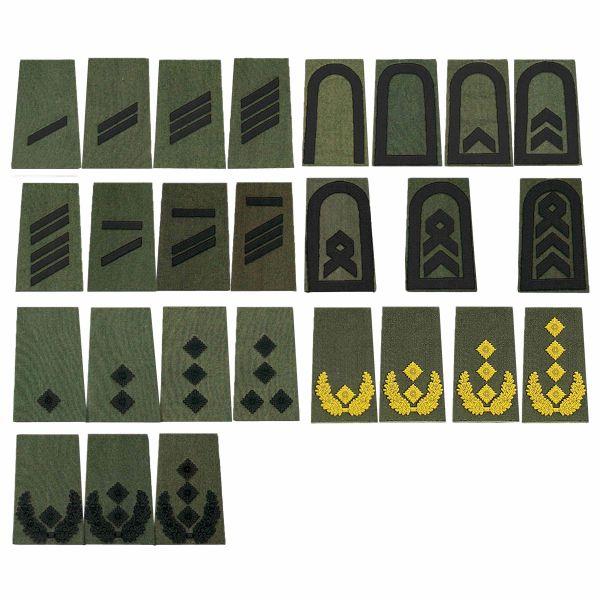 BW Rangabzeichen oliv/schwarz