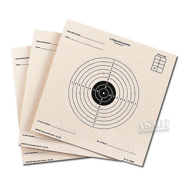 Umarex Schießscheiben für Luftgewehr 14 x 14 cm 100 St.