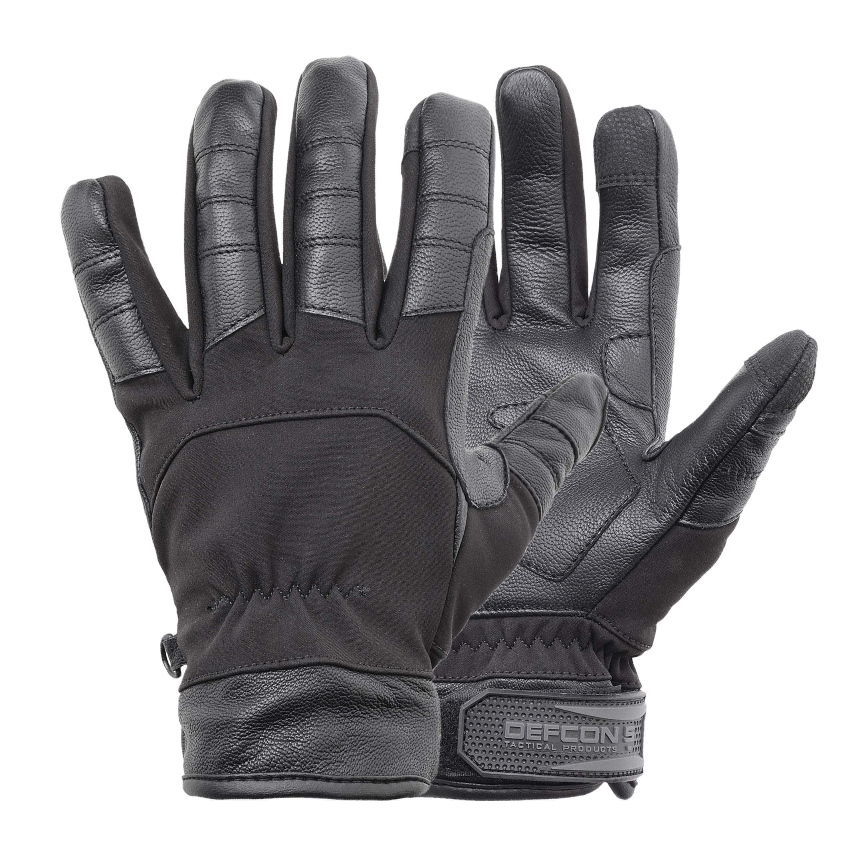 Defcon 5 Handschuh Softshell schwarz
