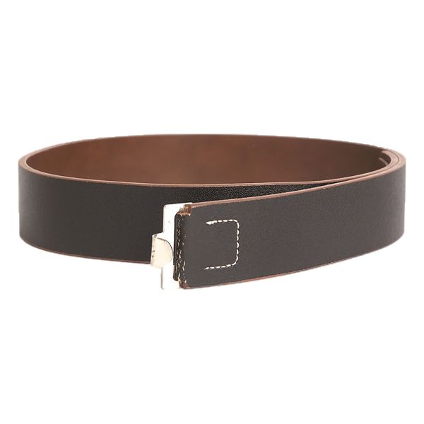 WH Koppelriemen Leder 45 mm schwarz