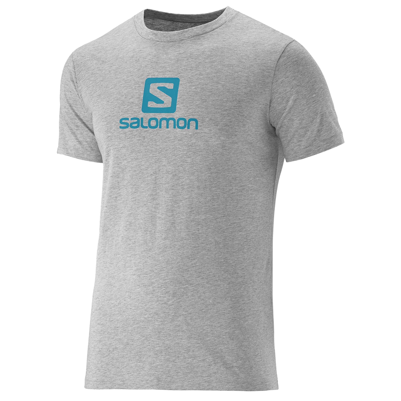 Salomon T-Shirt Cotton Tee grau