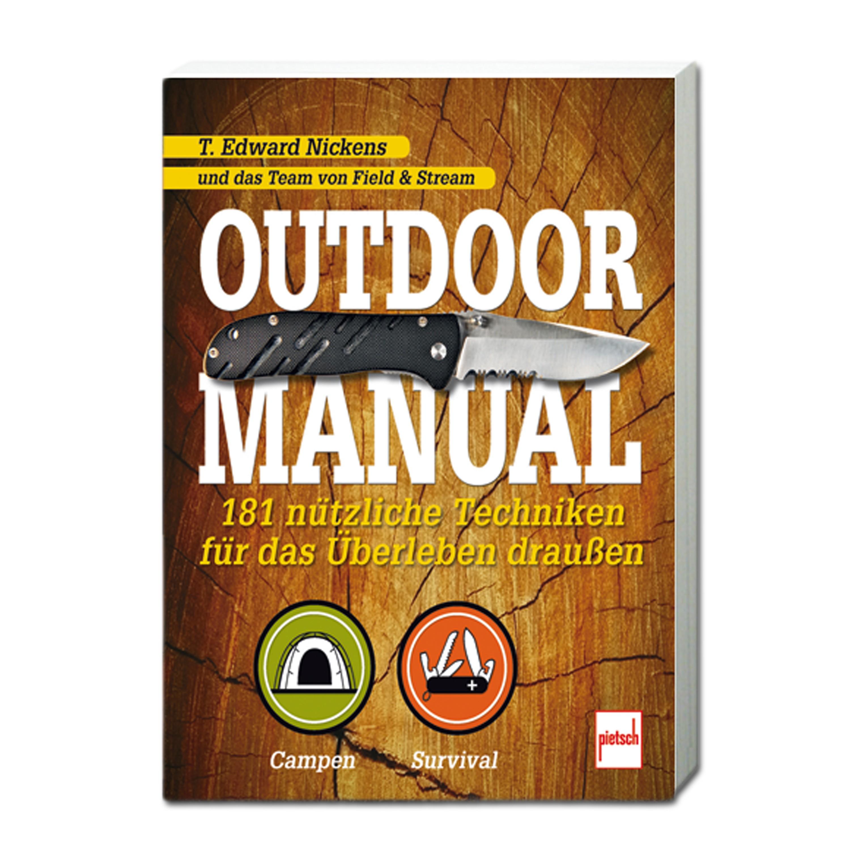 Buch Outdoor Manual - 181 nützliche Techniken für das Überleben