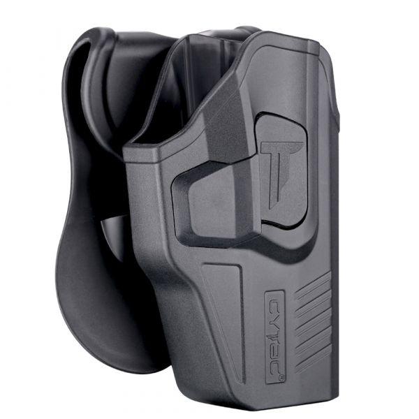 Cytac Paddleholster R-Defender Gen3 Glock 19/23/32 RH schwarz