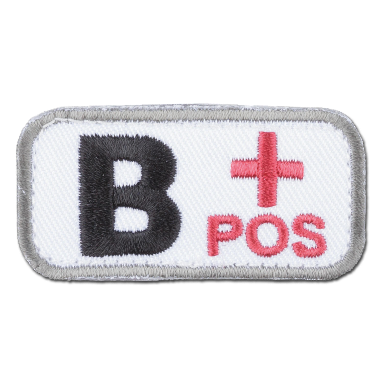 MilSpecMonkey Patch Blutgruppe B Pos medical