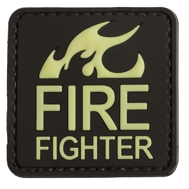 TAP 3D Patch FIREFIGHTER nachleuchtend