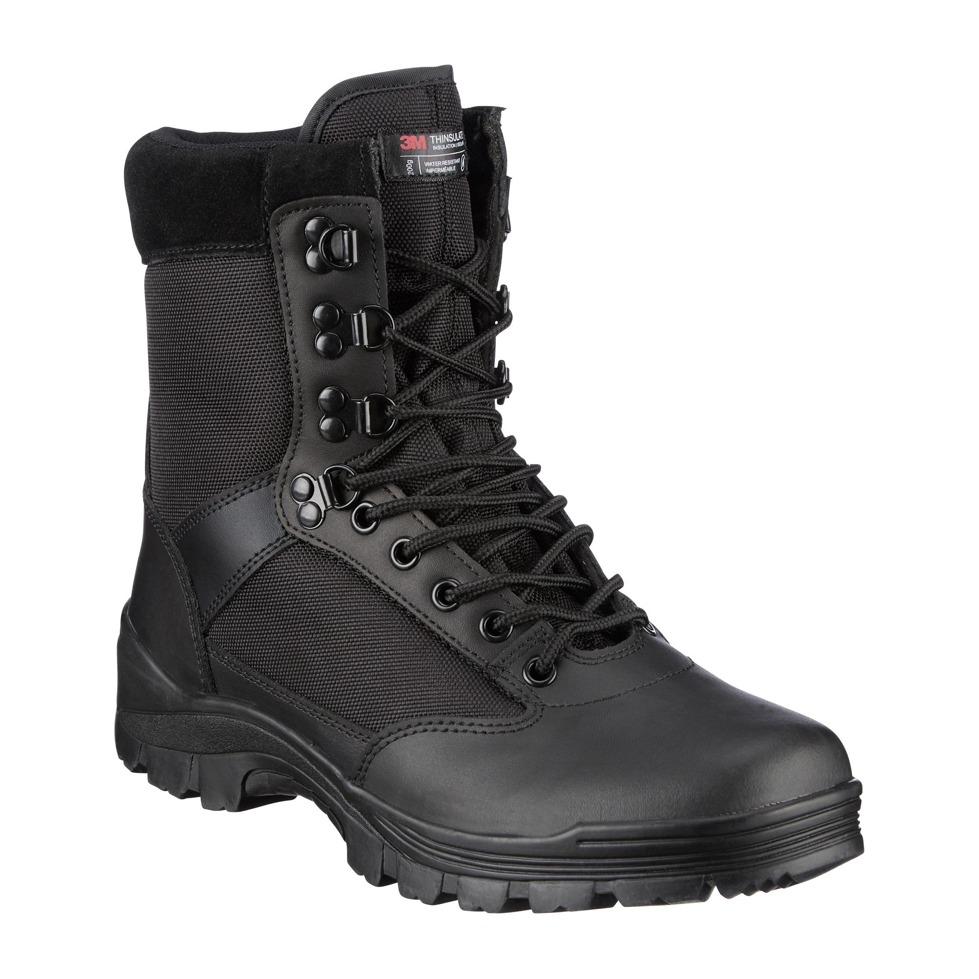 SWAT Boots ZIP Mil Tec schwarz