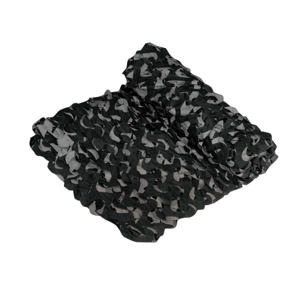 Tarnnetz Crazy Camo schwarz 6 x 2,4 m