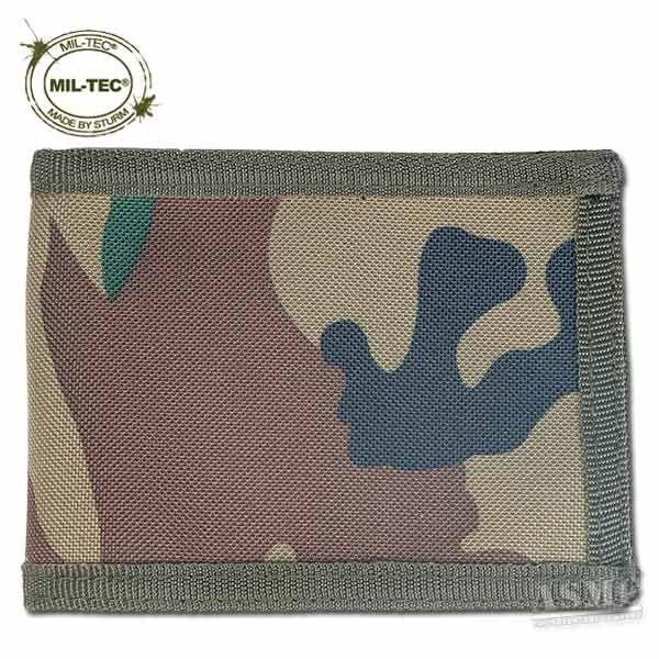 BW Ausweishülle von MIL-TEC® schwarz oliv oder flecktarn Ausweis Etui Tasche