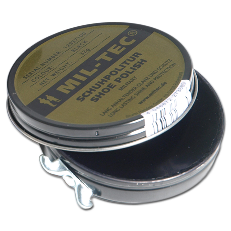Mil-Tec Schuhcreme schwarz 32g
