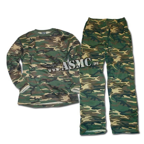 Homewear Suit woodland
