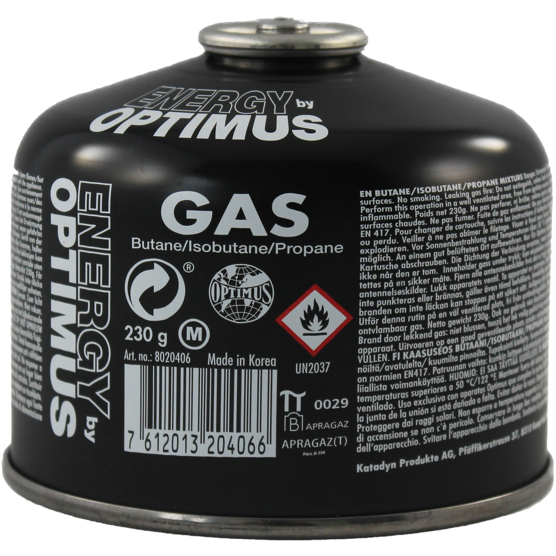 Optimus Tactical Universal Gas 230 g schwarz