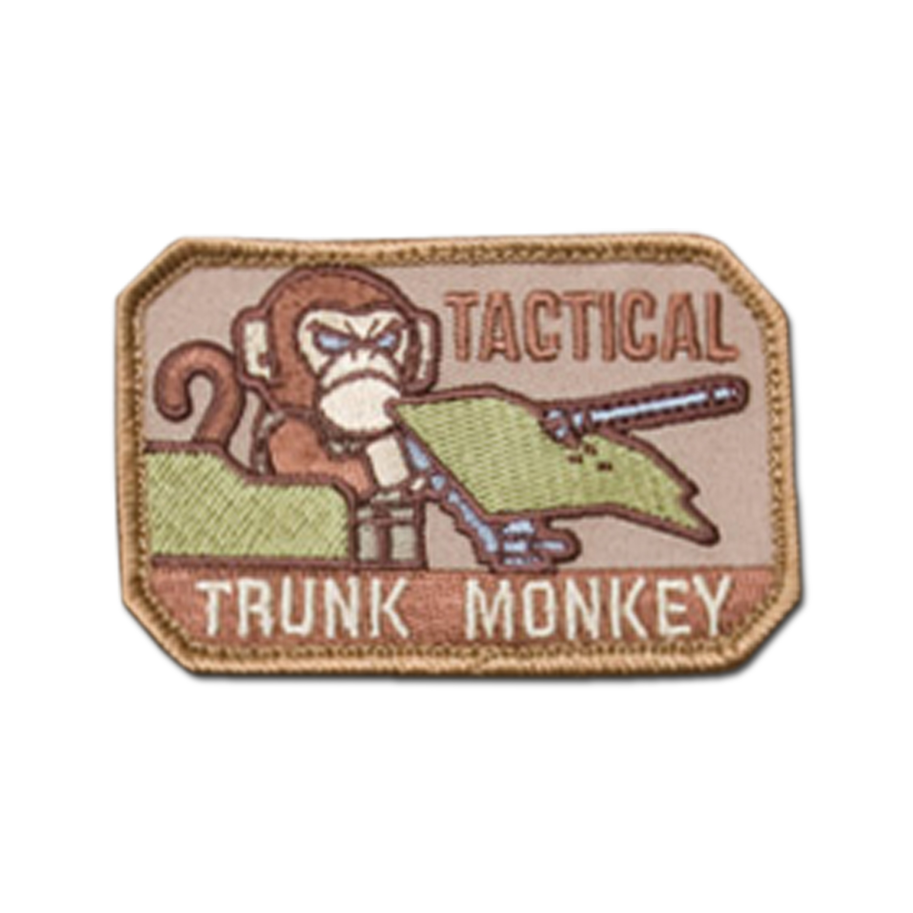 MilSpecMonkey Patch Tactical Trunk Monkey desert