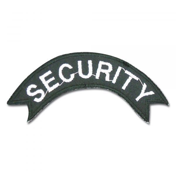 Abzeichen SECURITY halbrund