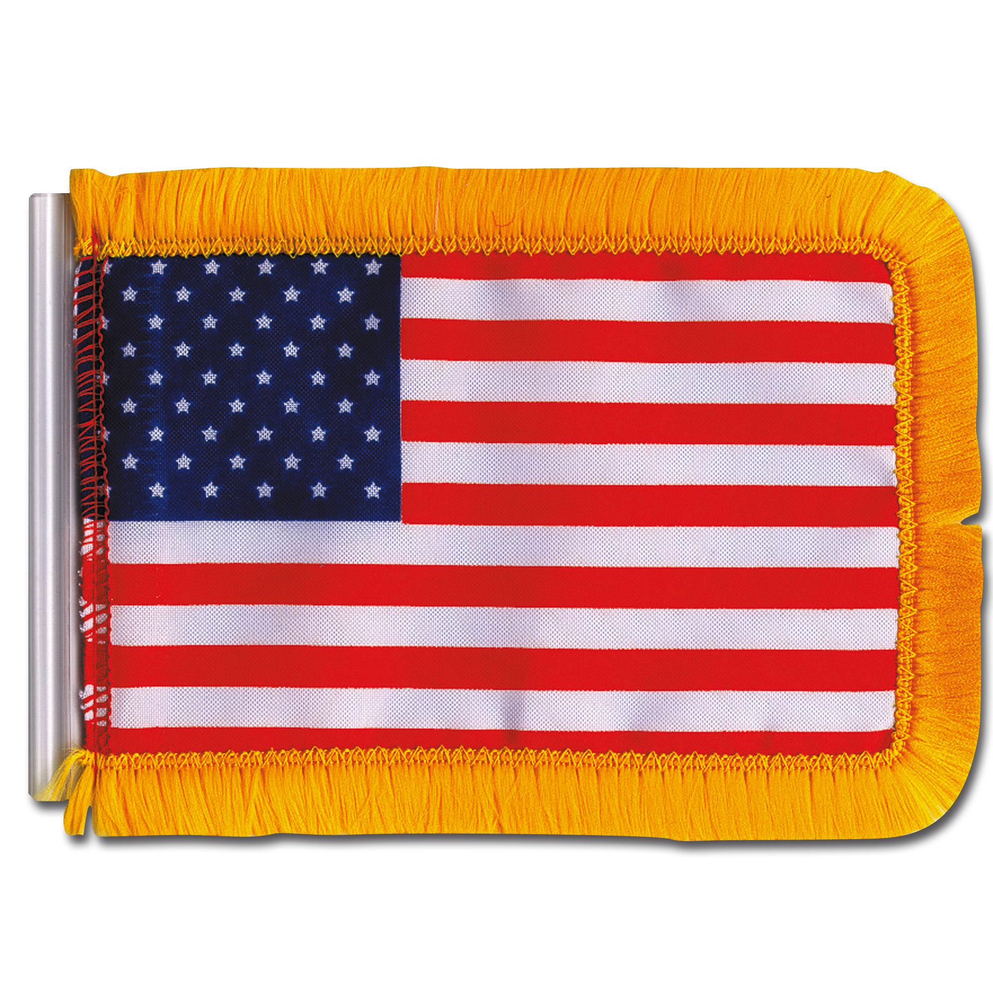Antennen Flagge USA