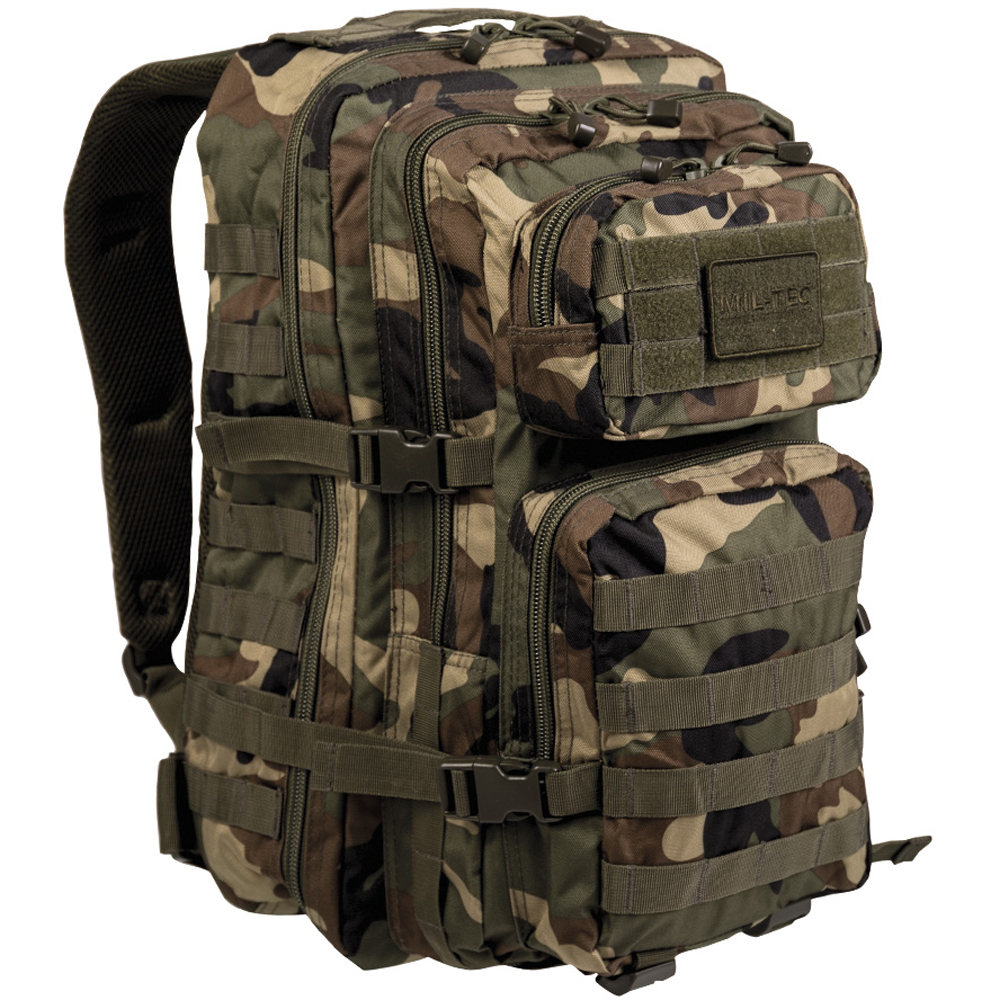 Rucksack US Assault Pack II woodland