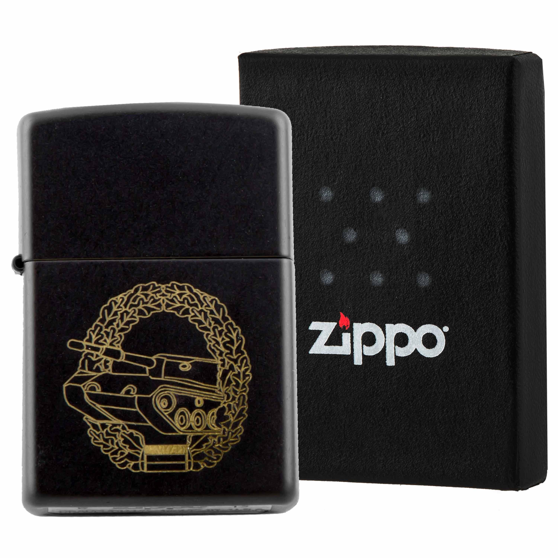 Zippo Panzertruppe schwarz