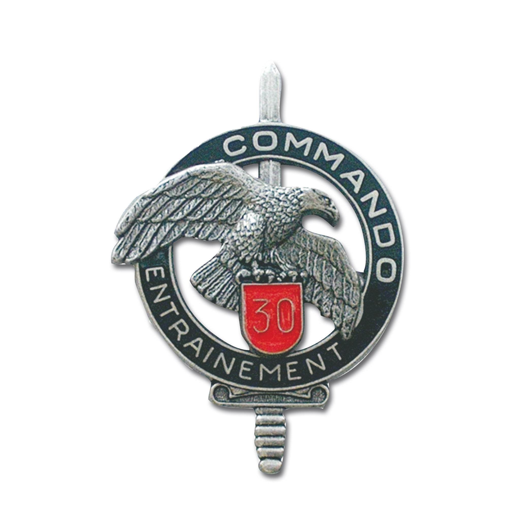 Abzeichen franz. Commando CEC 30