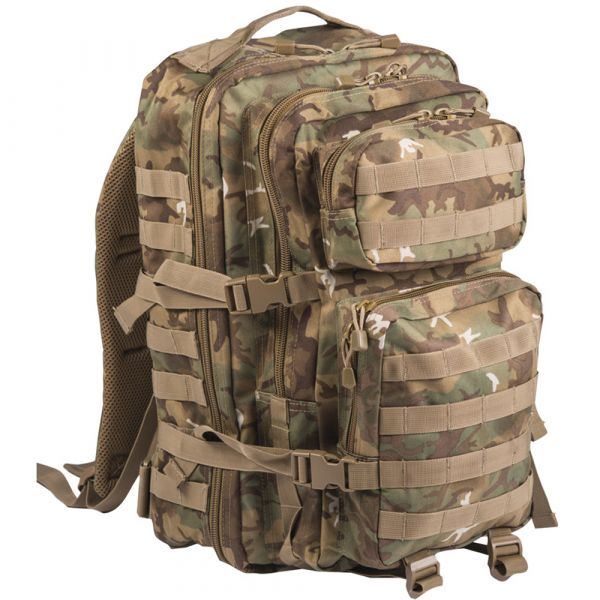 Mil-Tec Rucksack US Assault Pack II arid-woodland