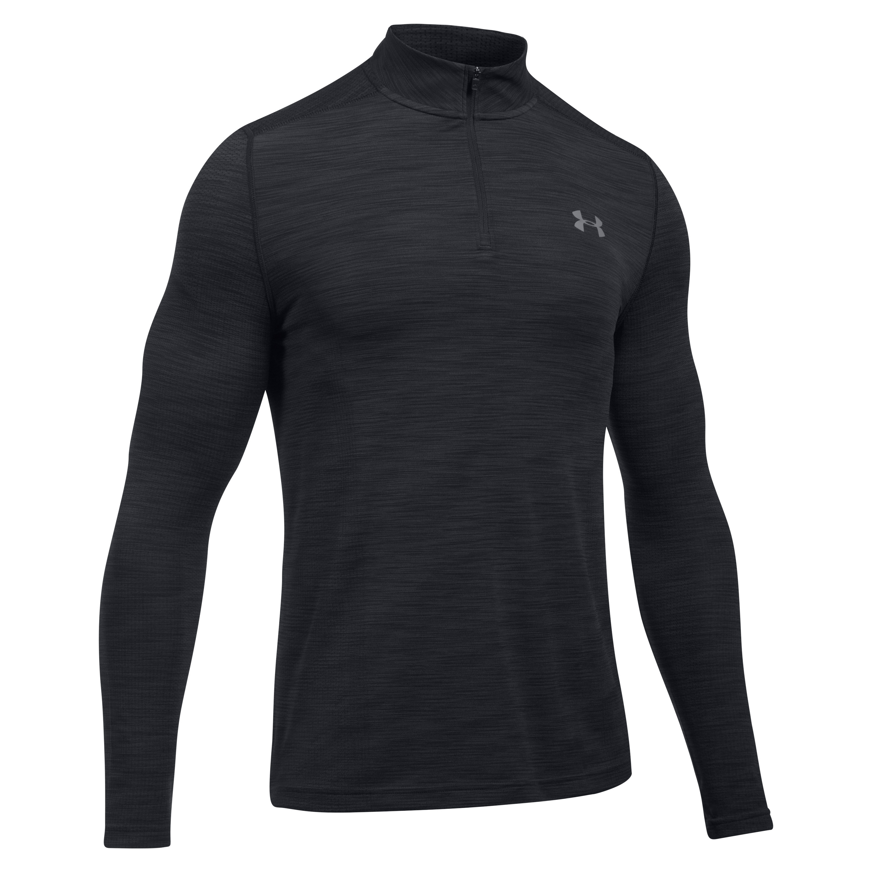 Under Armour Langarmshirt Threadborne 1/4 Zip schwarz