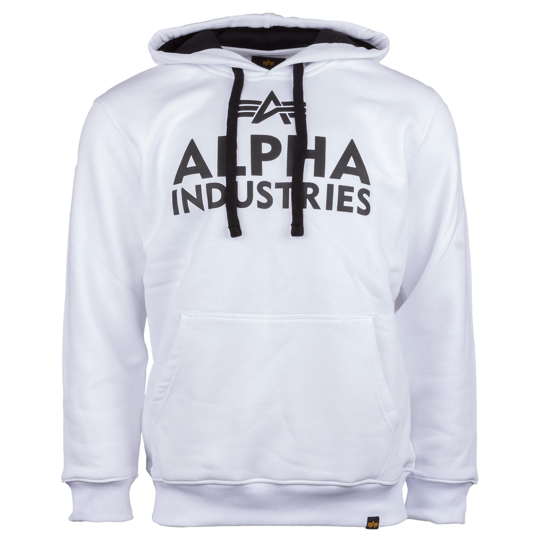 Alpha Industries Foam Print Hoody weiß