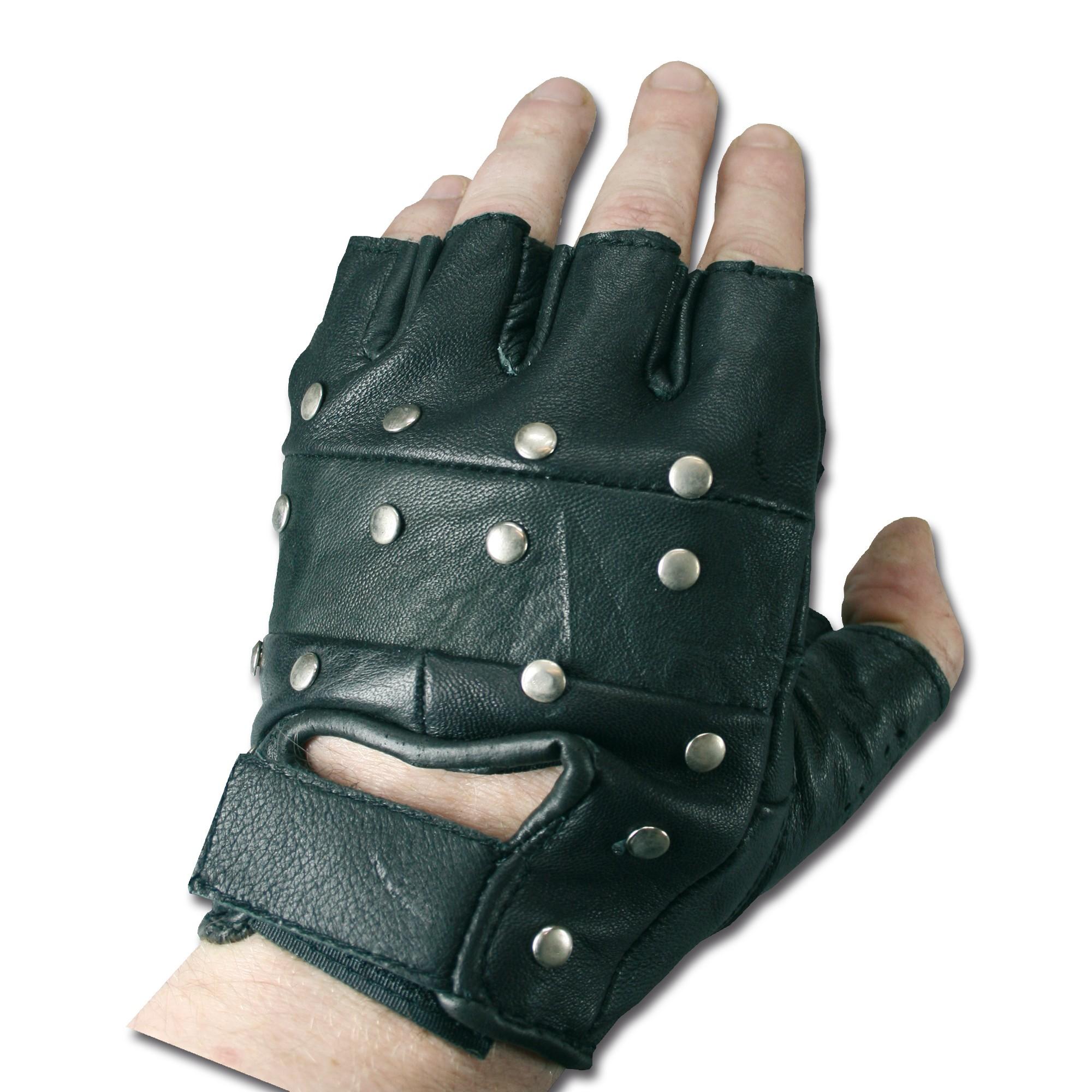 Handschuhe Tactical mit Nieten