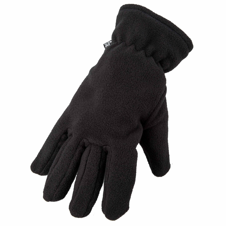 Thermo-Fleecehandschuhe schwarz