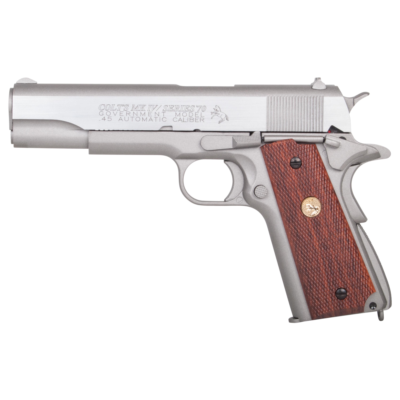 KWC Airsoft Colt MK IV Series 70 CO2 BB 1.1 J silber
