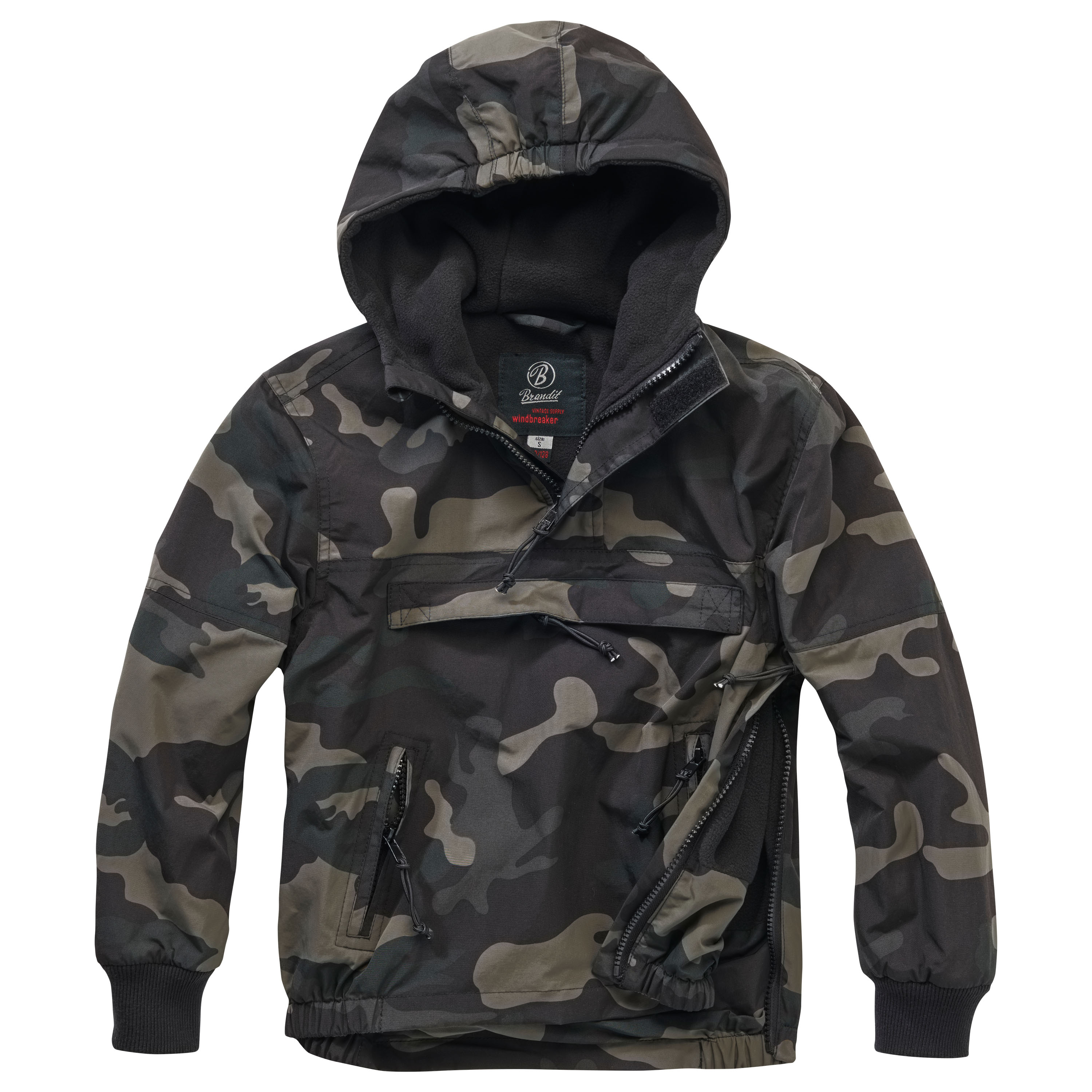 Brandit Jacke Windbreaker Kids darkcamo