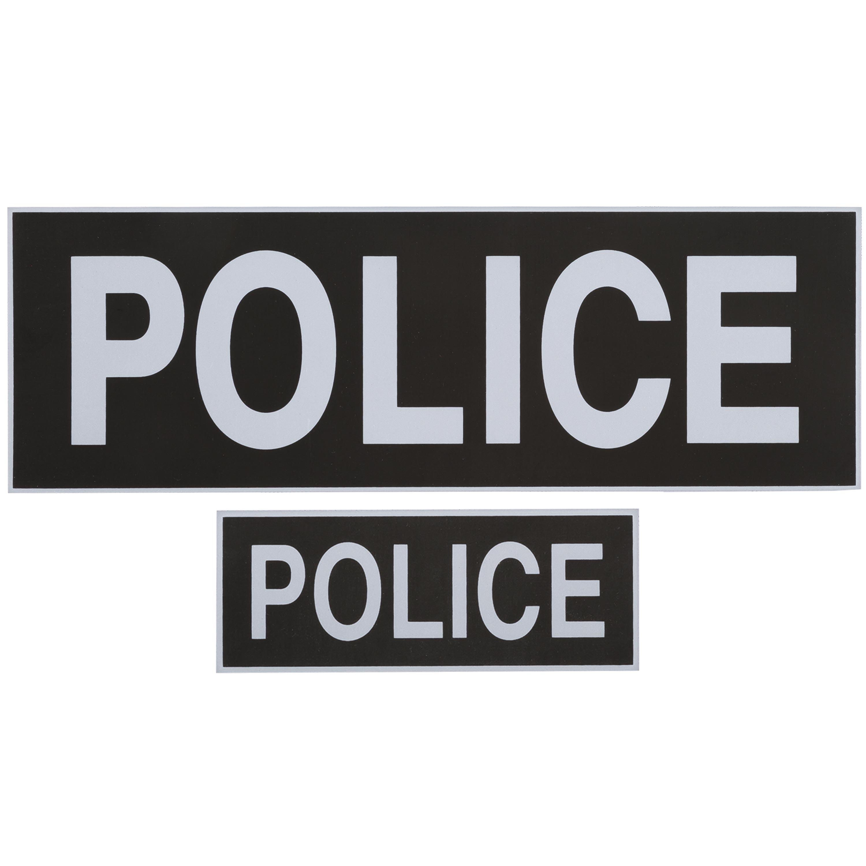T.O.E Police Patches schwarz