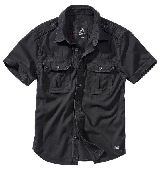 Brandit Shirt Vintage Shortsleeve schwarz